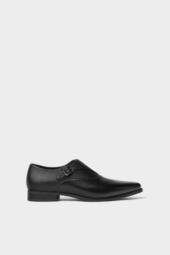 Zara Buckle Smart Shoes - houseofhighness