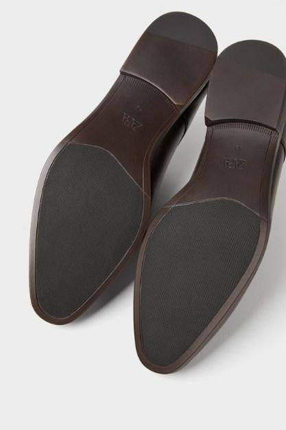ZARA BROWN SMART SHOES - houseofhighness
