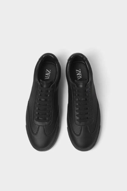ZARA MICRO PERFORATED PLIMSOLLS - houseofhighness