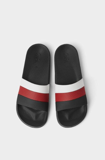 ZARA THREE-TONE SLIDES - houseofhighness