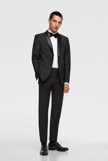 ZARA TUXEDO SHIRT WITH CUFFLINKS - houseofhighness