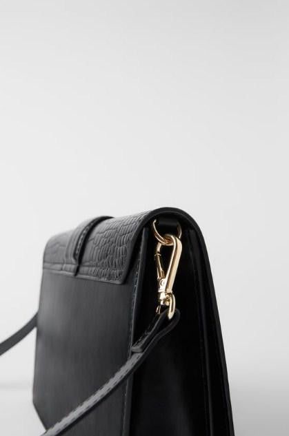 ZARA ANIMAL PRINT HORSESHOE CROSSBODY BAG - houseofhighness