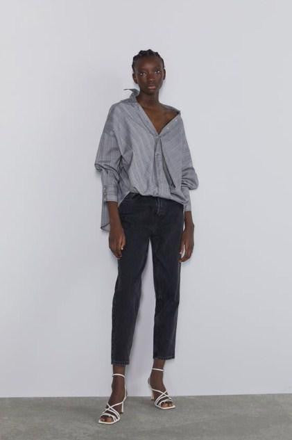 ZARA SHIRT WITH FRONT KNOT - houseofhighness