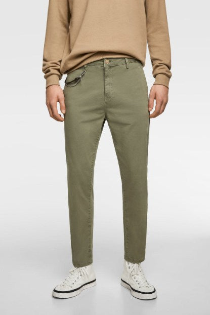 ZARA CROPPED NEW TROUSERS - houseofhighness