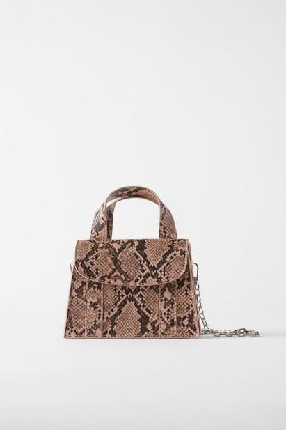 ZARA ANIMAL PRINT MINI BAG - houseofhighness