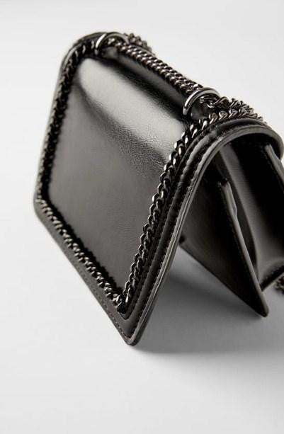 ZARA MINI CROSSBODY BAG WITH CHAIN - houseofhighness