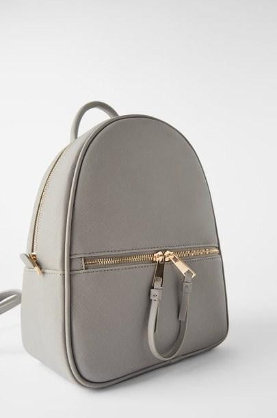 ZARA BACKPACK WITH DOUBLE PULL TAB - houseofhighness