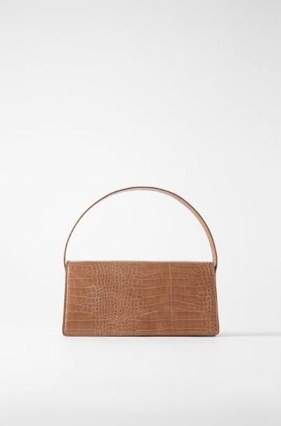 ZARA ANIMAL PRINT BAGUETTE BAG - houseofhighness