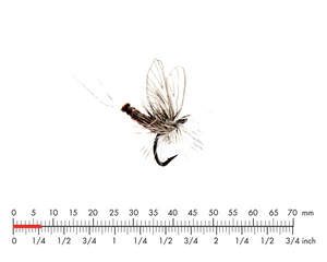 Mayfly Dun 5 Rusty Red Fly