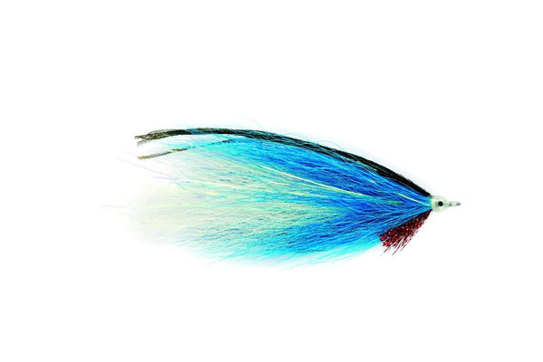 Blue White Bucktail Fly