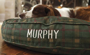 Killerloopflyfishing Personalised In and Out Dog Bed - killerloopflyfishing Fly Fishing Tackle Outfitter & Guiding Service