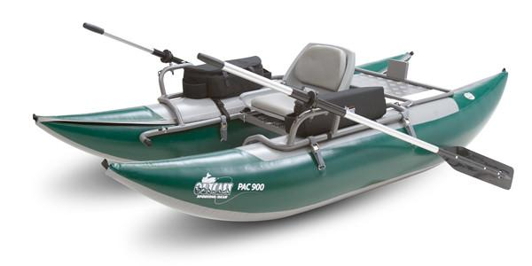 Outcast Pac 800 Pontoon Boat - killerloopflyfishing Fly Fishing Tackle Outfitter & Guiding Service