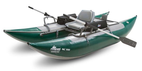 Outcast Pac1000 Pontoon Boat - killerloopflyfishing Fly Fishing Tackle Outfitter & Guiding Service