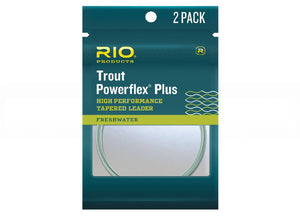 Rio Powerflex Plus Trout Leaders - killerloopflyfishing Fly Fishing Tackle Outfitter & Guiding Service
