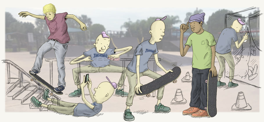 HOW TO EARN RESPECT AT THE SKATEPARK