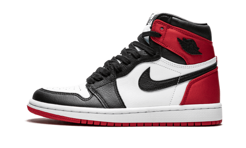 Air Jordan 1 Retro High Satin Black Toe - TheHeatstock