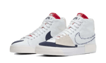 Sneakers Blazer SB Mid Edge Hack Pack White -Heatstock