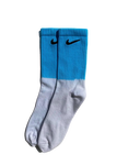 Sneakers Socks Nike Tie-Dye Half Blue High -Heatstock