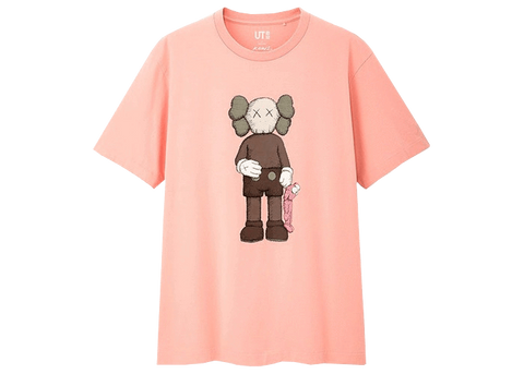 Sneakers T-Shirt KAWS Companion Pink -Heatstock