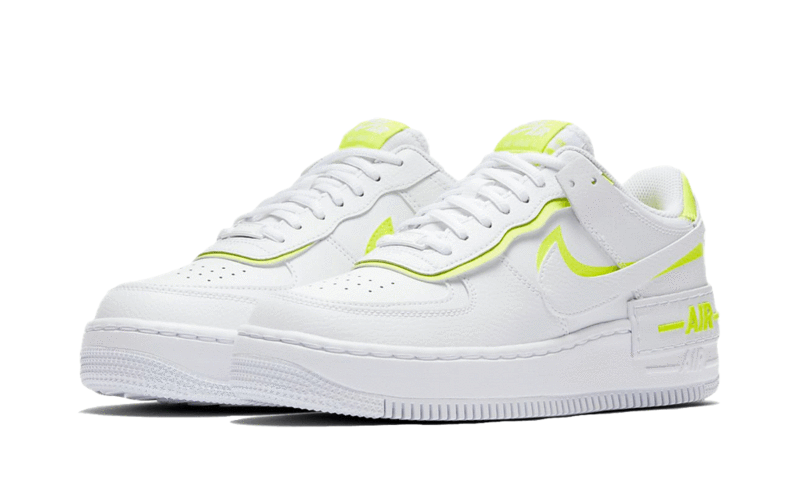 Air Force 1 Shadow White Lemon I Heatstock Theheatstock Shadow pieces for a unique play on a classic. heatstock