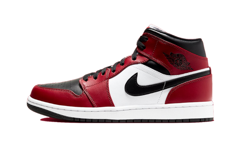 Sneakers Air Jordan 1 Mid Chicago Black Toe -Heatstock