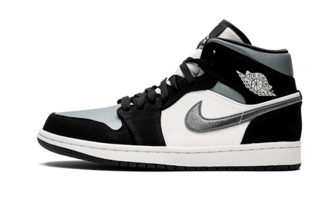 Air Jordan 1 Mid Satin Grey Toe - TheHeatstock