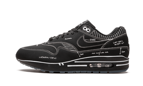 Air Max 1 Tinker Schematic Black - TheHeatstock
