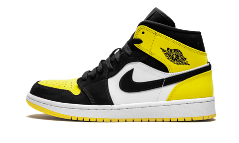Air Jordan 1 Mid Yellow Toe - TheHeatstock