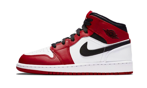 Sneakers Air Jordan 1 Mid Chicago White -Heatstock