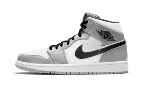 Sneakers Air Jordan 1 Mid Light Smoke Grey -Heatstock