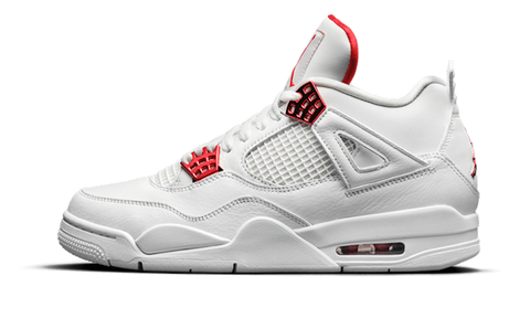 Sneakers Air Jordan 4 Retro Metallic Red -Heatstock