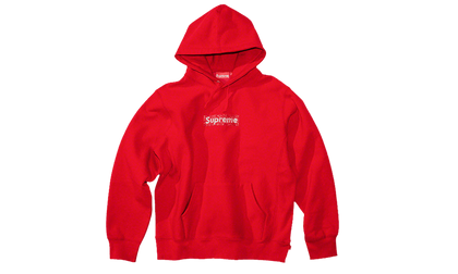 Sneakers Supreme Swarovski Bandana Box Logo Sweatshirt Red -Heatstock