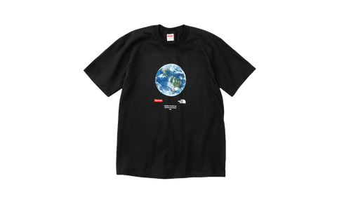 Sneakers One World The North Face x Supreme Black Tee -Heatstock