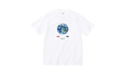 Sneakers One World The North Face x Supreme White Tee -Heatstock