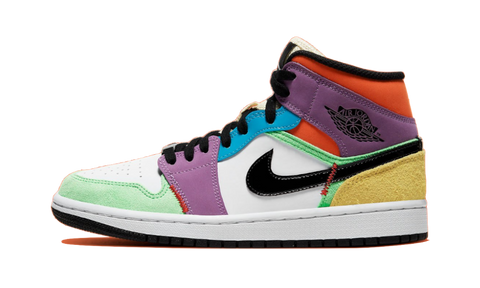 Sneakers Air Jordan 1 Mid SE WMNS Lightbulb -Heatstock