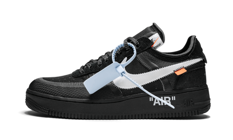 Sneakers Air Force 1 Low Off-White Black -Heatstock