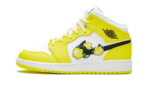 Air Jordan 1 Mid Dynamic Yellow - TheHeatstock