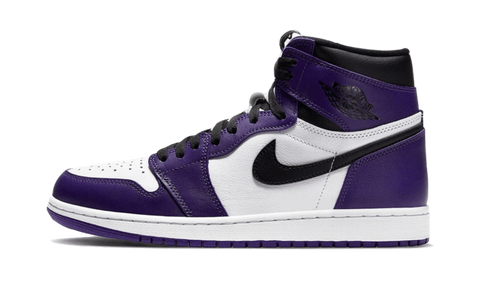 Air Jordan 1 Retro High OG Court Purple White 2020 - TheHeatstock