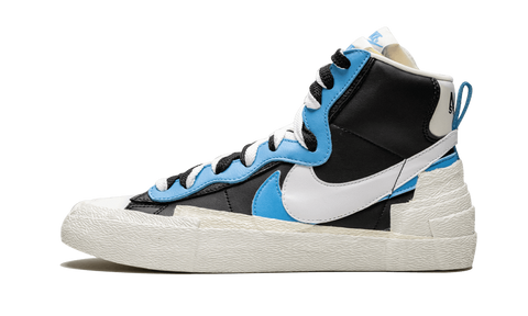 Sneakers Blazer High Sacai White Black Legend Blue -Heatstock