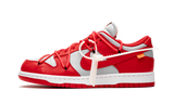 Sneakers Dunk Low Off-White University Red -Heatstock