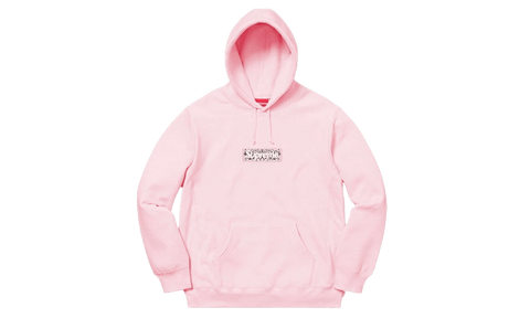 Sneakers Bandana Box Logo Hooded Sweatshirt Pink -Heatstock