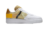 Air Force 1 Drop Type White Gold Yellow - TheHeatstock