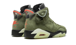 Sneakers Air Jordan 6 Travis Scott Medium Olive -Heatstock