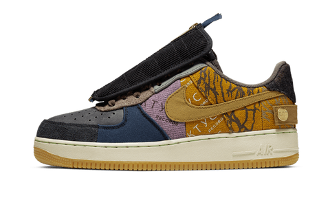 Sneakers Air Force 1 Low Fossil Travis Scott -Heatstock