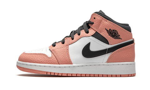 Sneakers Air Jordan 1 Mid Pink Quartz -Heatstock