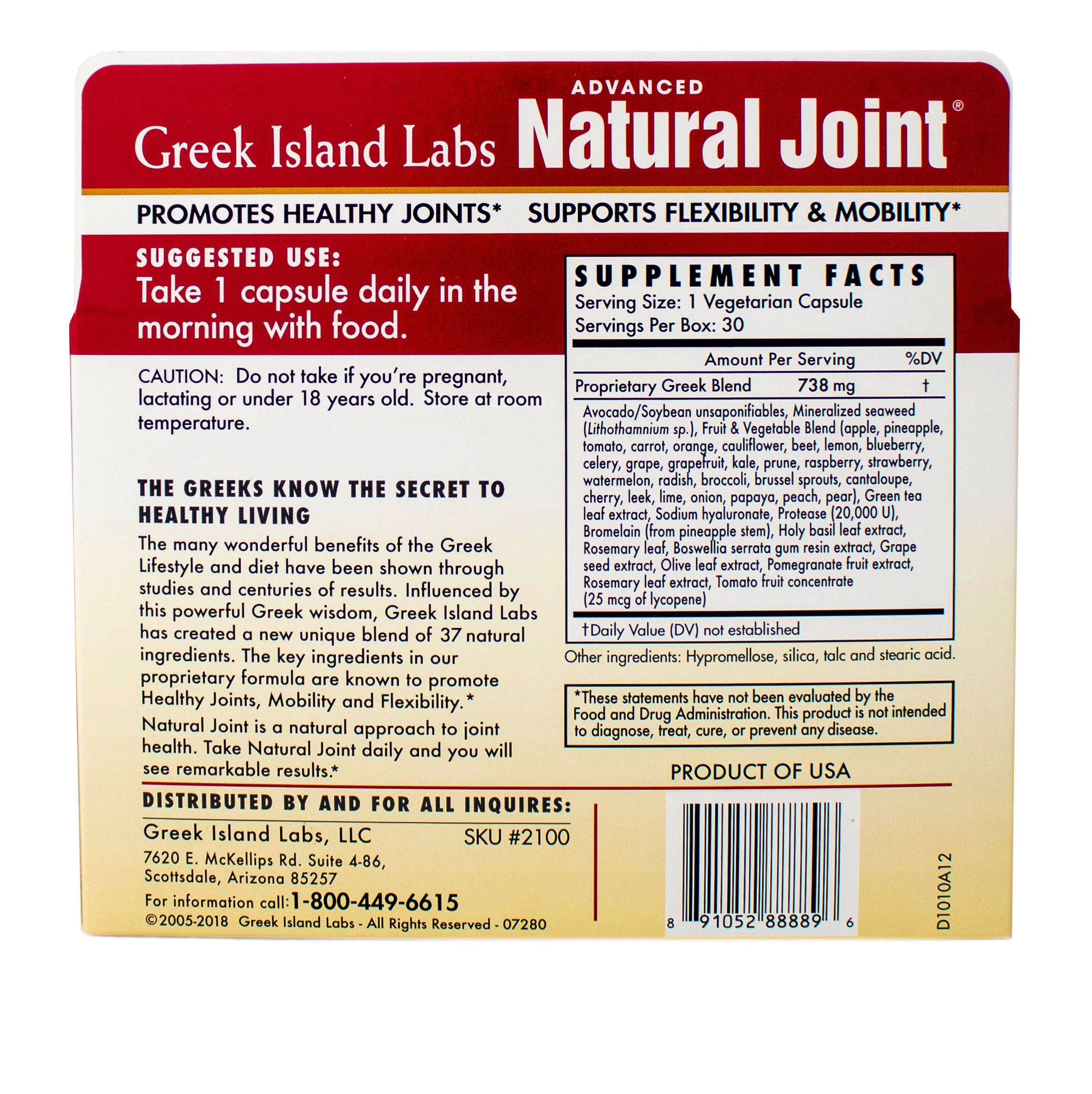 Natural Joint Advanced - Buy 3 Get 1 FREE