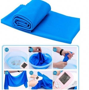Instant Icy Cooling Towel