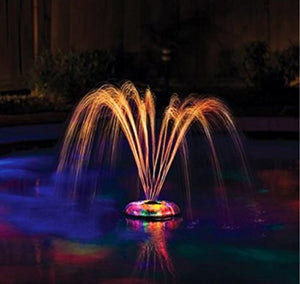 LED Colour Lightshow Water Fountain