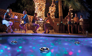 HighBright™ SOLAR Disco Pool Lights [2nd Generation]