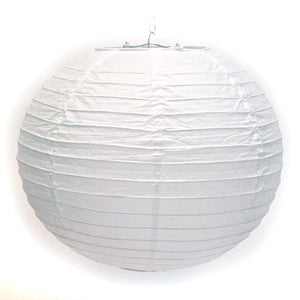 White Paper Lanterns 10 Pack